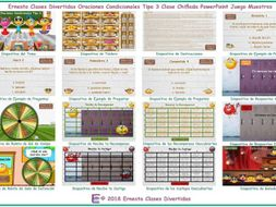 Conditional Sentences Type 3 Kooky Class Spanish PowerPoint Game-An Original by Ernesto