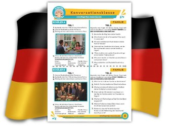 Familie - German Speaking Activity