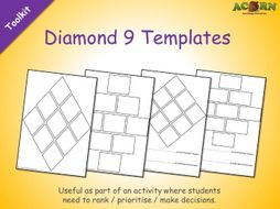 Diamond 9 Templates