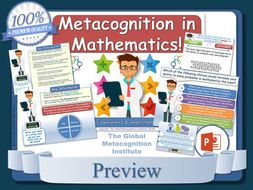 The Metacognition & Maths Toolkit