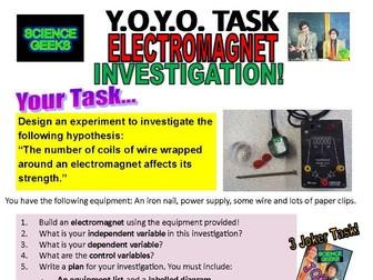 Y.O.Y.O. - ELECTROMAGNET INVESTIGATION!