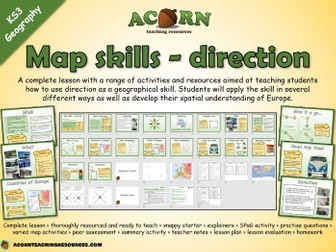 Geography - Map skills - Direction