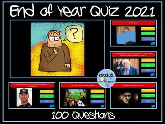 End of Year Quiz 2021