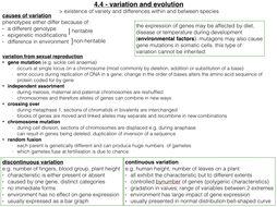 WJEC Biology A2 Unit 4