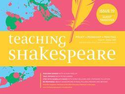 Teaching Shakespeare: Issue 19