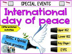 International Day of Peace - september