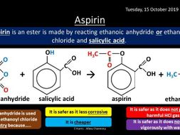 NEW AQA Yr2 Carboxylic Acids and Derivatives Revision