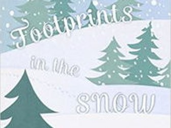 'Footprints in the Snow': Christmas Reading Comprehension