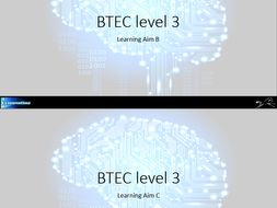 BTEC Nationals in Information Technology 2016 - Unit 1 - Learning Aim B & C