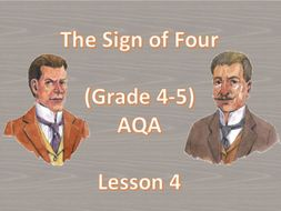 Chapter 1 - Lesson 4 (The Sign of Four)