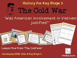 an analysis of american involvement in the cold war Japan8 he focuses on the american role in the korean conf devotes relatively   interpretation of the causes of the war17 like simmons, cummings treats the.