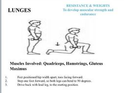 Resistance Exercise Circuit Cards - with coaching points which can be printed and laminated