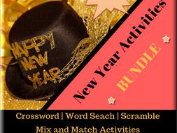 New Year Fun Activities Bundle