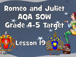 The marriage bed - Lesson 19 (Romeo and Juliet)