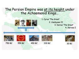 Who were the Achaemenid (Persian) Kings?