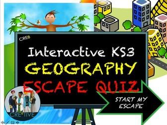 KS3 Geography Revision Escape Quiz