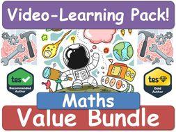 Maths! Maths! Maths! [Video Learning Pack]