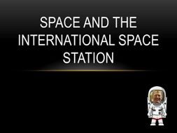 Space and the International Space Station Project Lesson