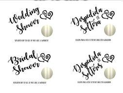 scratch off bridal shower game bridal shower ideas games bachelorette party