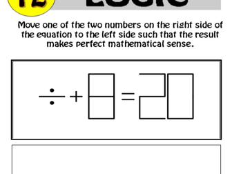 12 resource Logic Puzzle Bundle!! 1-12
