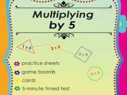 Multiplying by 5 - Multiplication Math Games and Lesson Plans