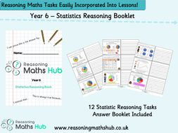 Year 6 - Statistics  Reasoning Booklet