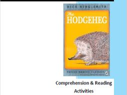 The Hodgeheg by Dick King-Smith Comprehension and Reading Activities