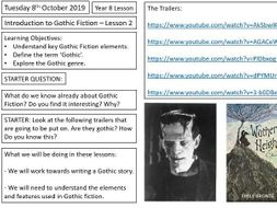 Gothic Fiction (worksheets included) Lesson 2