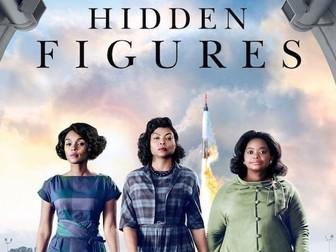Hidden Figures worksheet