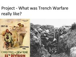 Trench Warfare group project instructions