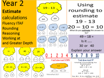 Year 2 Estimating addition and subtraction calculations
