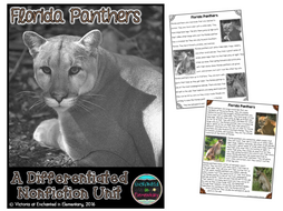 Differentiated Nonfiction Unit: Florida Panthers