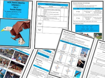 GCSE - Edexcel Component 1 - Revision Book Part 2 - Levers/Planes/Axes