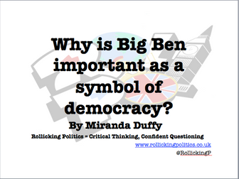 Big Ben, Symbol of Democracy