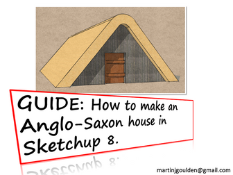 GUIDE - How to create an Anglo-Saxon house in Sketchup 8 (3D printer friendly)