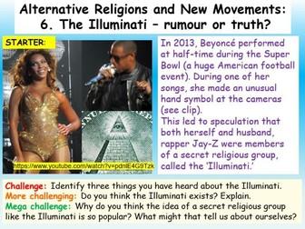 The Illuminati - Religious Movement or Conspiracy Theory?