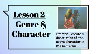 Creative-Writing---Session-2---Genre---Characte-r---The-Looking-glass-by-Chekhov.pptx