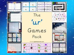 The 'ur' Phonics Games Pack (Phase 3)