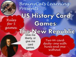 US History Card Games: Learn the Facts about the Early Republic