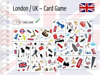 London / Great Britain - Card Game