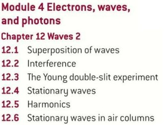 OCR AS level Physics: Waves 2