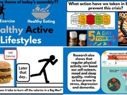Healthy Active Lifestyle assembly PSHE Healthy Schools