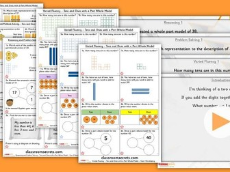Year 2 Tens and Ones 1 Autumn Block 1 Step 3 Lesson Pack