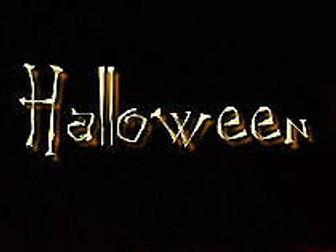 Halloween Assembly + Activities + Story + Homework!