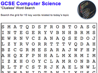 GCSE Computer Science: Word puzzle (Programming languages)