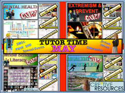 May Tutor Time 2019 Quiz Package