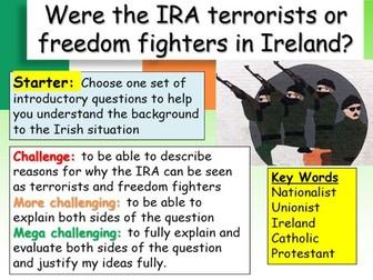 IRA and Ireland