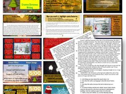 AQA 8700/1 English Language - Christmas Creative Writing & Mock