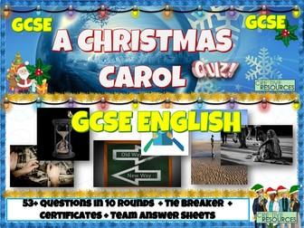 A Christmas Carol GCSE