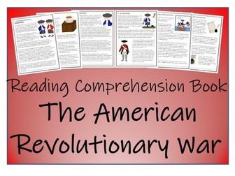 UKS2 History - American Revolutionary War Reading Comprehension Book